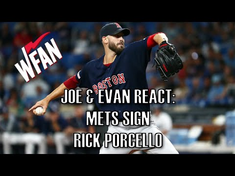 The Mets Sign Rick Porcello - Joe & Evan Show Open