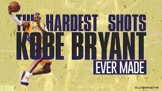 The Hardest Shots Kobe Bryant Ever Made