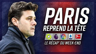 Le PSG en tête, Messi expulsé, grand Inter… Récap' du week-end