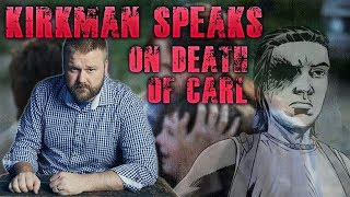 Robert Kirkman Breaks His Silence - Comments on Carl's Death