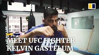 UFC fighter Kelvin Gastelum puts himself together after heartbreaking loss