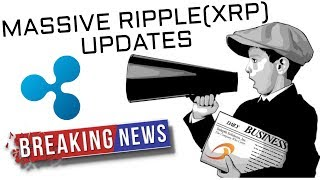 Massive Ripple XRP News Today! (Cryptocurrency News)
