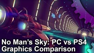No Man's Sky - PC vs PS4 Grafikai Összehasonlítás
