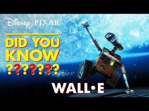 WALL•E Easter Eggs & Fun Facts | Pixar Did You Know? by Disney•Pixar