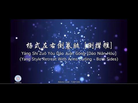 Yáng Shì Dào Juǎn Gōng (Yang Style Retreat with Arms Curling)[Alt. Name: Repulse the Monkey]