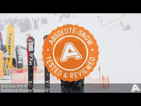 2015 / 2016 | Volkl RTM 78 Ski | Video Review