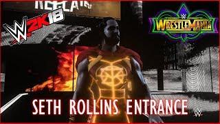 Wrestlemania 34: Seth Rollins Entrance