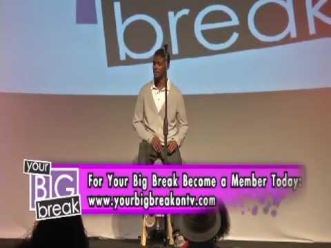 Actor John Wesley performing on Your Big Break on TV!