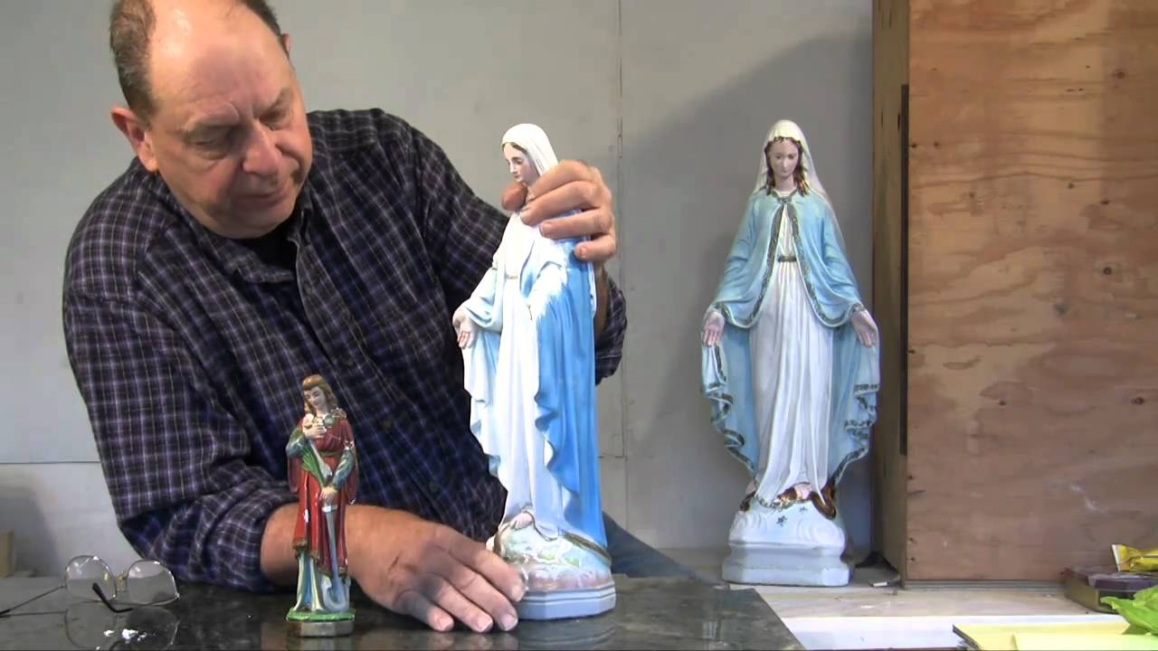 Statuary Restoration Reassembling Fixing Patching And