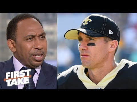 'The Saints are done without Drew Brees, period!' - Stephen A. | First Take