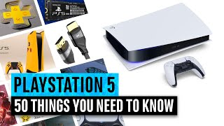 PS5 | 50 Things You Need To Know about the PlayStation 5