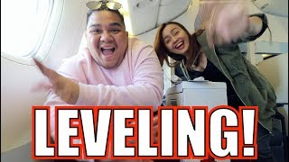 FIRST TIME MAG BUSINESS CLASS FLIGHT (PARA SA THAILAND!) | LC VLOGS  #160