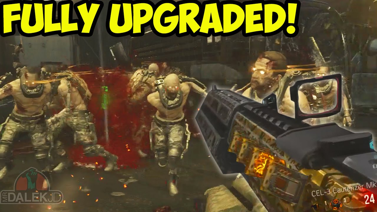 Advanced Warfare Zombies All Guns Upgraded