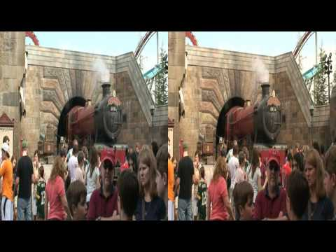 Harry Potter Wizarding World in HD 3D