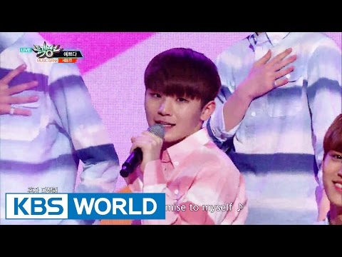 SEVENTEEN - Pretty U | 세븐틴 - 예쁘다 [Music Bank / 2016.05.27]