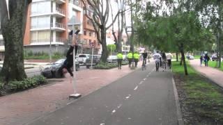 Pole Dance urbano
