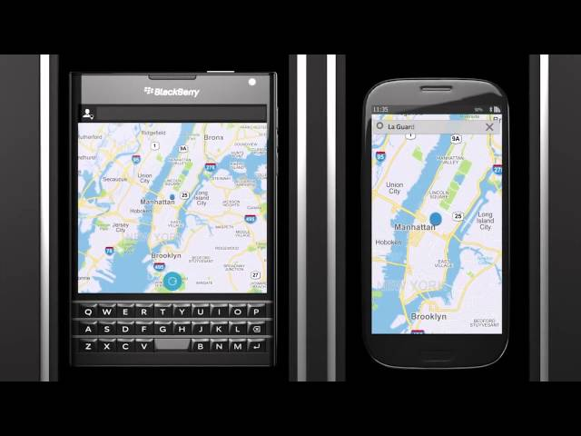 Belsimpel-productvideo voor de BlackBerry Passport