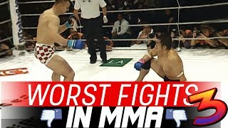 The Worst Fights In MMA 3