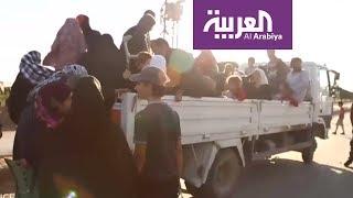 الهاربون من الرقة وقصص إرهاب وعنف داعش     -
