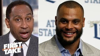 Dak Prescott has to show up vs. the Packers, he's trying to get paid! - Stephen A.   First Take