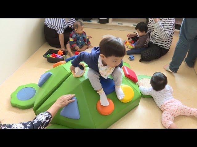 方便6歲前幼兒活動 台中廣設親子館