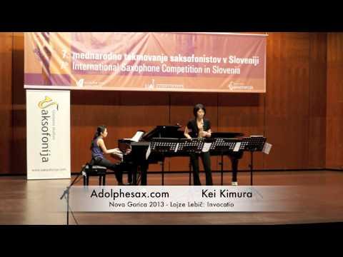Kei Kimura - Nova Gorica 2013 - Lojze Lebič: Invocatio