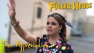Andrea Surprises Fuller House Fans After Taping