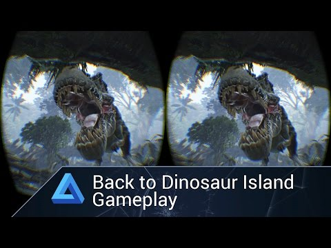 Back to Dinosaur Island on Oculus Rift DK2