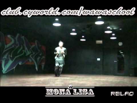 WAWA DANCE ACADEMY MBLAQ MONALISA DANCE STEP MIRRORED MODE