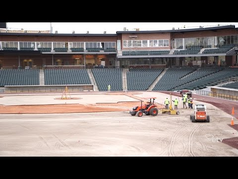 CAROLINA MONEY | Construction of Spirit Communications Park Reaches Its Final Phases