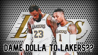 Lakers Trade Rumors: Is a Damian Lillard Lakers Trade Realistic? Analyzing Trade. Lakers News 2020