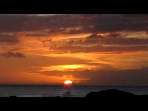 Coucher de Soleil sur Baillif Guadeloupe