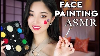 [ASMR] Painting Your Face Roleplay (Soft Spoken)