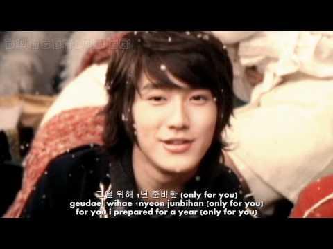 [FULL HD] SM TOWN - Snow Dream [hangul + romanization + eng sub]