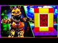 Minecraft FNAF 4 - How to Make a Portal to FIVE NIGHTS AT FREDDY'S 4