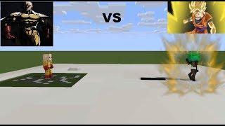 MONSTER SCHOOL: Monster student VS Saitama (Wither the saiyan) - Minecraft Animation
