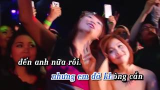 [Karaoke HD] Kết Thúc Không Vui (Remix) - Châu Khải Phong