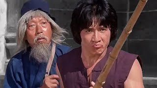Джеки Чан (Чиен Фу) заступился за попрошайку   Jackie Chan (Chien Fu) stood up for the beggar