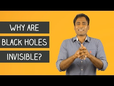 Why are Black holes invisible?