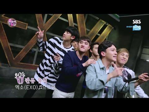 EXO '판타스틱 듀오' 촬영기