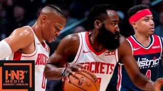 Houston Rockets vs Washington Wizards - Full Game Highlights | October 30, 2019-20 NBA Season