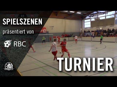 1.FC Union Berlin - RB Leipzig (13. Range Bau Cup, U17 B-Junioren, Finale) - Spielszenen | SPREEKICK.TV