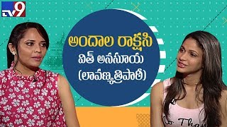 Actress Lavanya Tripathi in A Date With Anasuya..