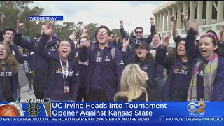 UCI Faces Off Against Kansas State In First Round Of NCAA Tournament