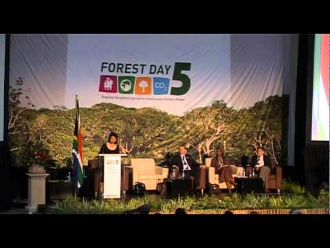 Tina Joemat-Pettersson's Welcoming Address - Forest Day 5, 2011