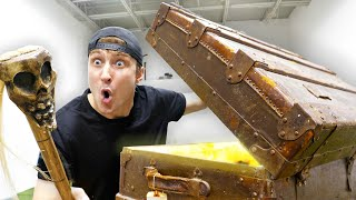 Breaking Into A 100 Year Old Abandoned Military Crate