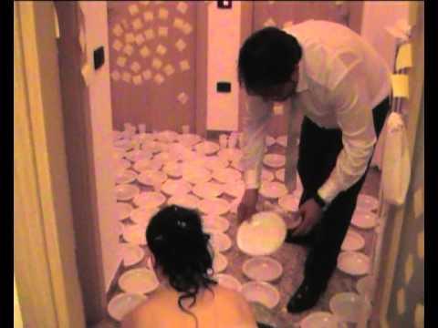 scherzi a casa degli sposi luca elisiana il rientro 1