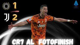 Udinese-Juve 1-2// Cr7 al fotofinish tiene la Juve a galla...