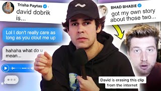 David Dobrik EXPOSED... (with text messages)