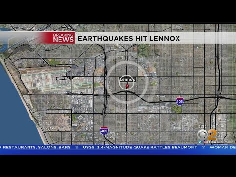 Flurry Of Earthquakes Shake Lennox, Largest Measuring 4.0M